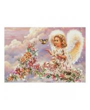 Набор для вышивания Серебристый ангел