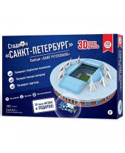 3D пазл Стадион Санкт-Петербург IQ Puzzle