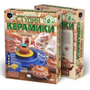 Набор для лепки Студия Керамики Чайная церемония