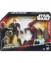 Лихачи Звездных войн Jedi Speeder & Anakin Skywalker
