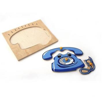 Деревянный вкладыш Телефон