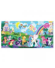 Коврик-пазл My Little Pony 8 деталей Играем Вместе