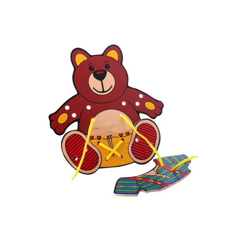 Шнуровка Медвежонок