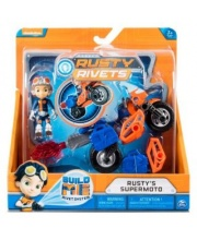 Rusty Rivets построй мотоцикл Расти Spin Master