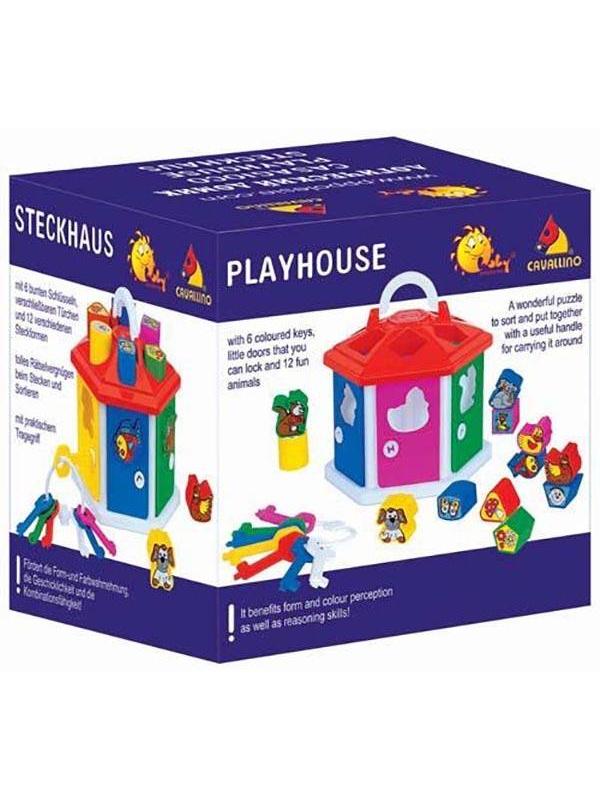 Игровой набор Логический домик Полесье