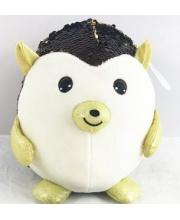 Ёж с пайетками 20 см Junfa Toys