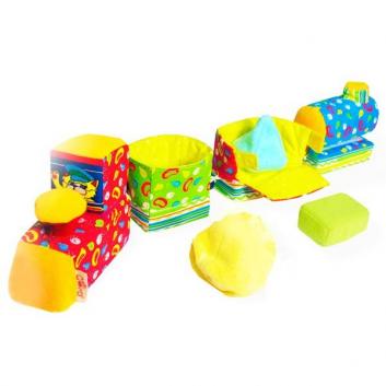 Игрушки, Паровозик Печки-Лавочки Мякиши 633218, фото