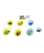Животные инерционные в яйце в ассортименте Наша Игрушка