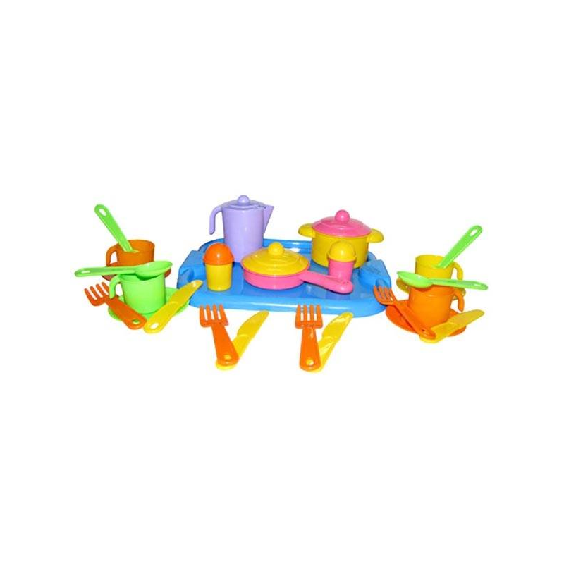 Набор детской посуды Настенька
