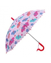 Зонт детский Весенние бабочки 48 см свисток полуавтомат Mary Poppins
