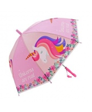 Зонт детский Единорог 48 см свисток полуавтомат Mary Poppins
