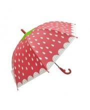 Зонт детский Клубничка 48 см свисток полуавтомат Mary Poppins