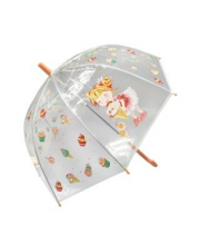 Зонт детский Лакомка прозрачный 45 см полуавтомат Mary Poppins