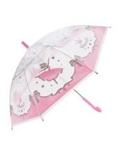 Зонт детский прозрачный Принцесса 48 см полуавтомат Mary Poppins