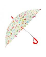 Зонт детский Сердечки 48 см свисток полуавтомат Mary Poppins