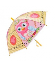 Зонт детский Сова 48 см свисток полуавтомат Mary Poppins
