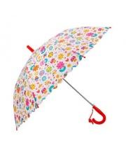 Зонт детский Цветы 48 см свисток полуавтомат Mary Poppins