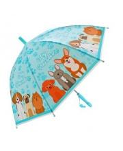 Зонт детский Щенки 48 см свисток полуавтомат Mary Poppins