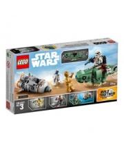 Конструктор Star Wars Спасательная капсула Микрофайтеры: дьюбэк LEGO