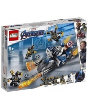 Конструктор Super Heroes Капитан Америка: Атака Аутрайдеров LEGO