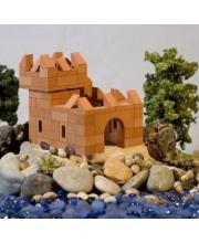 Конструктор керамический Крепость 119 деталей Брикмастер