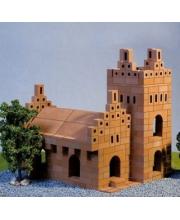 Конструктор керамический Собор 488 деталей Брикмастер