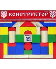 Конструктор Цветной 65 деталей ТОМИК