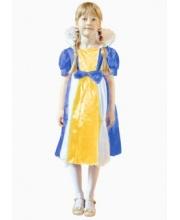 Костюм карнавальный Королева размером 104 см - 110 см Новогодняя сказка
