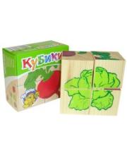 Куб 4 Овощи ТОМИК