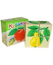 Куб 4 Фрукты-ягоды ТОМИК