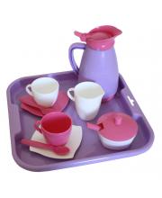 Набор посуды с подносом на 2 персоны Алиса Полесье