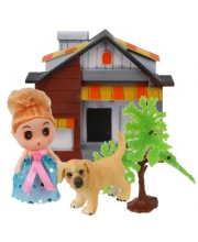 Кукла 9 см с питомцем 2 аксессуарами в ассортименте Наша Игрушка