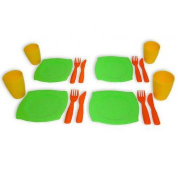 Игрушки, Набор посуды на 4 персоны Полесье 635015, фото