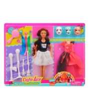 Кукла Lucy Маскарад 14 аксессуарами в ассортименте Defa