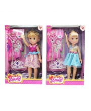 Кукла Джемми 32 см Красотка 5 аксессуарами в ассортименте Наша Игрушка