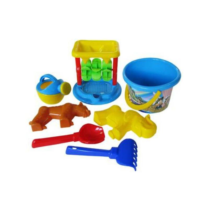 Полесье Набор для песочницы №350 игрушки для зимы полесье набор для песочницы 565