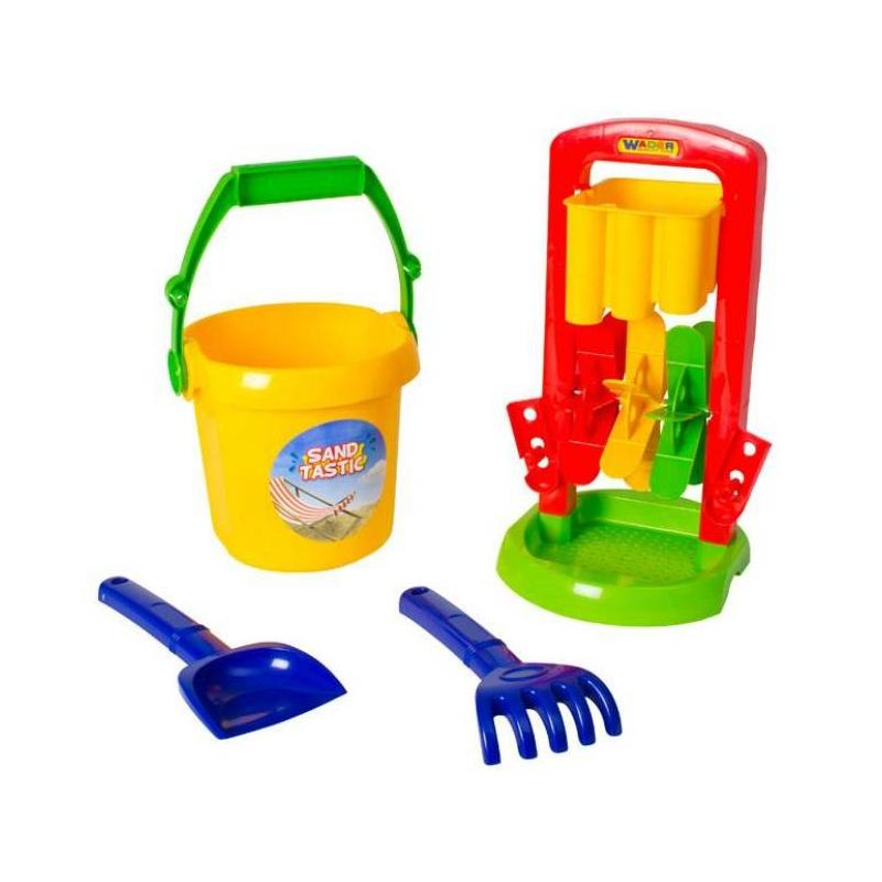 Набор для песочницы №391Набор для песочницы№391 марки Полесье. Игровой набор выполнен в ярких, привлекающих внимание ребенка цветах. Все элементы игрушки выполнены из высококачественного, ударопрочного пластика. Подходит для детей в возрасте от 2х лет.<br>Комплектация:мельница, ведро, лопатка и грабельки.<br><br>Возраст от: 2 года<br>Пол: Не указан<br>Артикул: 635026<br>Бренд: Белоруссия<br>Размер: от 2 лет