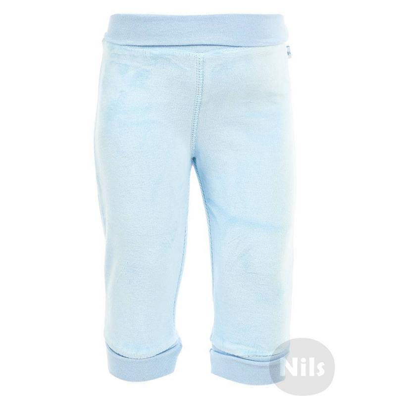 БрюкиВелюровые брюки голубогоцвета марки BLUE SEVEN для мальчиков. Брюки из мягкого бархатистого велюра с эластичным поясом. Благодаря отворотам длину брюк можно регулировать.<br><br>Размер: 2 месяца<br>Цвет: Голубой<br>Рост: 56<br>Пол: Для мальчика<br>Артикул: 604138<br>Страна производитель: Китай<br>Сезон: Всесезонный<br>Состав: 75% Хлопок, 25% Полиэстер<br>Бренд: Германия