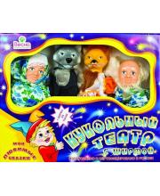 Кукольный театр 4 персонажа с ширмой 1 Весна