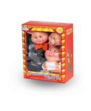 Кукольный театр 4 персонажа с ширмой 2 Весна