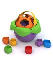 Логическая игрушка Ведро Цветочек Нордпласт