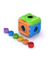 Логическая игрушка Кубик в ассортименте Нордпласт