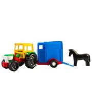 Машина Трактор с прицепом Тигрес