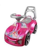 Машина-каталка Ламбо Розовая Принцесса ORION TOYS