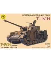 Модель Немецкий танк T-IV H МОДЕЛИСТ
