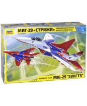 Модель Самолет МиГ-29 авиагруппа Стрижи ZVEZDA