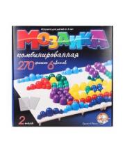 Мозаика 6 цветов 270 элементов 2 поля Десятое королевство