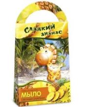 Мыло своими руками Сладкий ананас с формочкой Жираф Аромафабрика