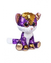 Мягкая игрушка Глазастик Котёнок Аметист Фэнси