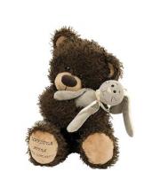 Мягкая игрушка Медвежонок Чиба с зайцем Фэнси